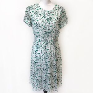 Boden Dress Fit and Flare Floral
